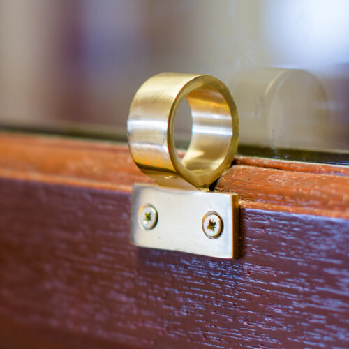 SASH LIFT RING Brass
