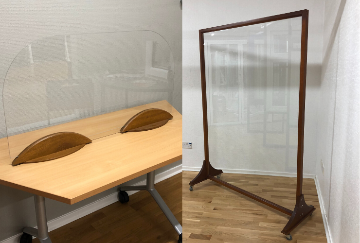 We've Added Protective Screens To Our Product Offering - Helping Businesses Operate Safely
